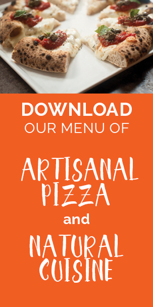 Artisanal pizza